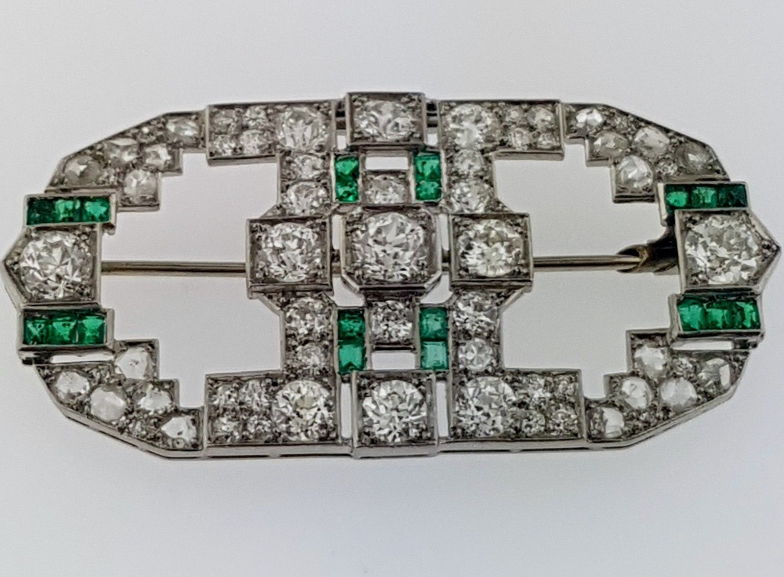 Antique Platinum Brooch