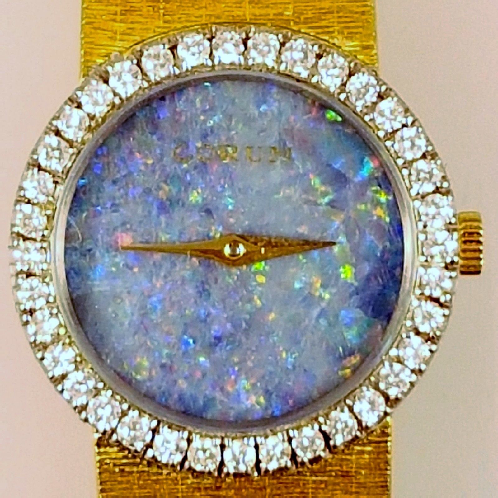 Opal Diamond Watch